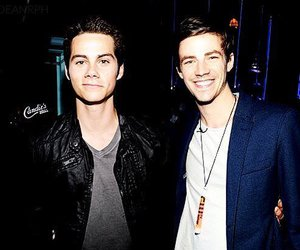 grant gustin, teen wolf, and flash image