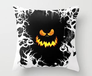 bed, dark art, and Halloween image