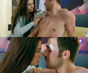 in love, demet ozdemir, and yusuf cim image