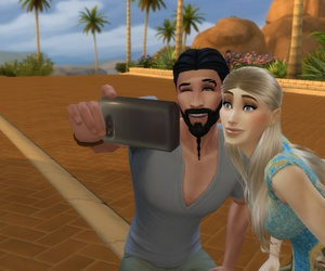 the sims, got, and game of thrones image