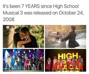 high school musical and HSM image