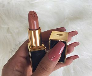 nails, lipstick, and makeup image