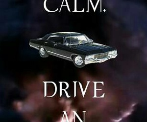 impala, supernatural, and deanwinchester image