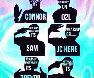 o2l, connor franta, and trevor moran image
