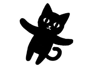 black, cat, and diy image