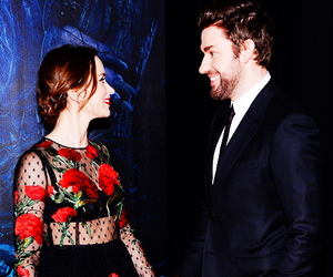 couple, dress, and Emily Blunt image