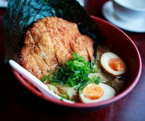 noodles, food, and japanese food image