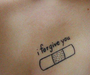 tattoo and forgive image