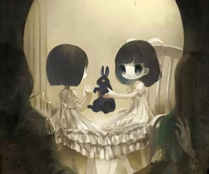 skull, art, and anime image