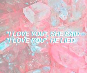 boy, girl, and pink image