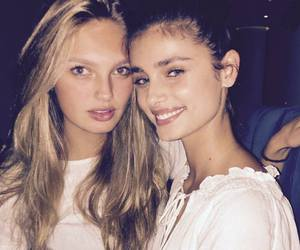 taylor hill, romee strijd, and model image