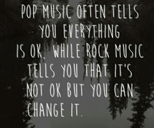 quote and rock music image