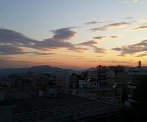 kypseli and sky image