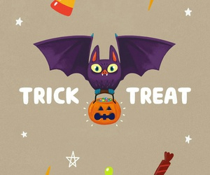 bats, Halloween, and pattern image