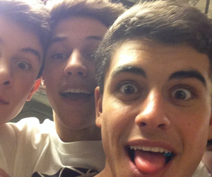 cameron dallas, magcon, and jack gilinsky image