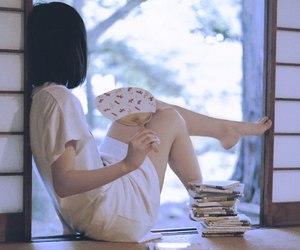 girl, summer, and ことば image