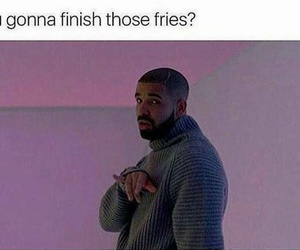 fries, funny, and true image