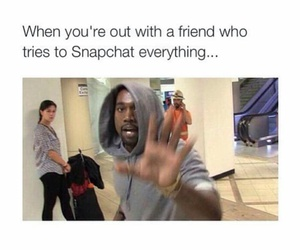 snapchat, funny, and friends image