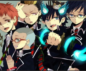 family, blue exorcist, and love image