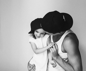 black and white, cool, and dad image