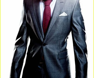 suit, lucas till, and photoshoot image