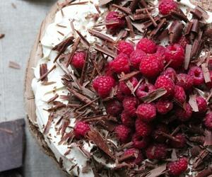 cake, chocolate, and desert image
