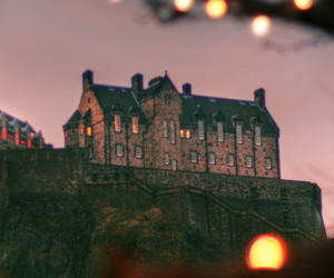castle and lights image