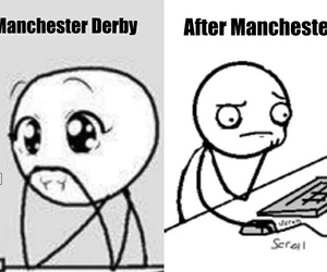city, football, and manchester image