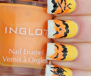 nail, nails, and halloweennail image