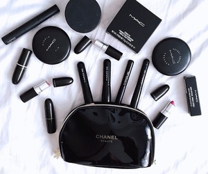 makeup, mac, and black image