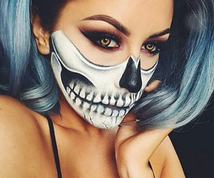 ️️hallowen, makeup, and perfection image