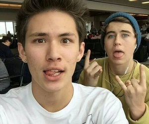 nash grier, carter reynolds, and magcon image