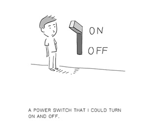 life, on, and switch image