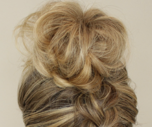 hairstyle, hairstyle tutorial, and upside down braid image