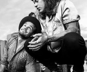 them, liam payne, and Harry Styles image