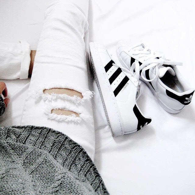 adidas, white, and minimal image