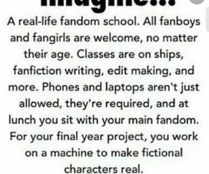 fandom, funny, and imagine image