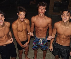 cameron dallas, boy, and ethan dolan image
