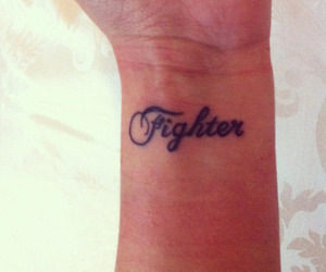 tattoo and fighter image