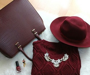 fashion, bag, and hat image