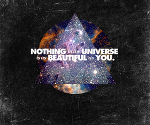 beautiful, universe, and quote image