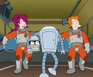 cartoon and futurama image