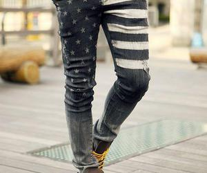 jeans, boy, and style image