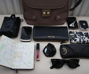 bag, blackberry, and miu miu image
