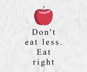 fit, food, and apple image