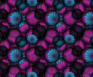 negro, rosa, and wallpaper image