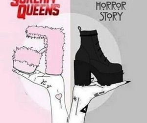 scream queens, ahs, and american horror story image