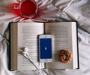 book, tumblr, and iphone image
