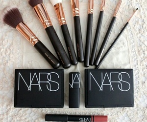 nars, makeup, and Brushes image