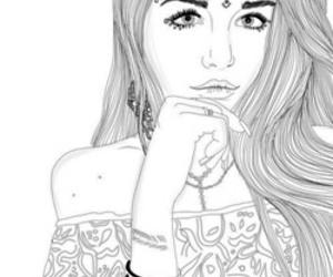 outline, art, and drawing image